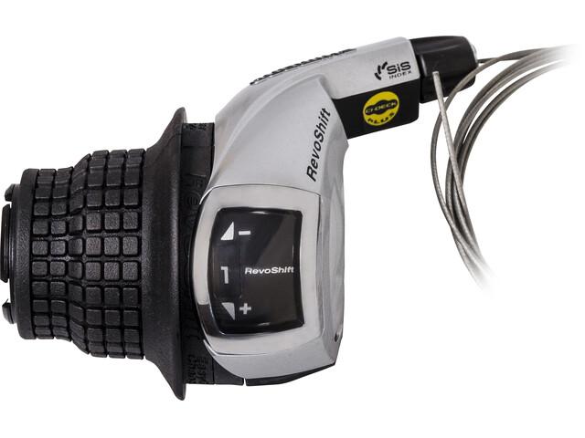 Shimano Tourney SL-RS47 Gearhåndtag 3-gears venstre sort/sølv